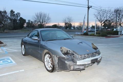 2003 Porsche 911 Damaged Wrecked for sale