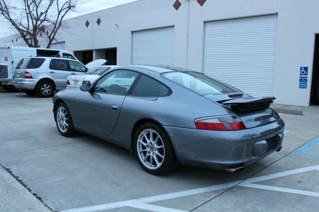 2003 porsche 911 damaged wrecked for sale. Black Bedroom Furniture Sets. Home Design Ideas