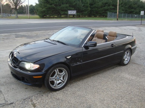 2005 BMW 330ci Cabriolet Salvage Rebuildable for sale
