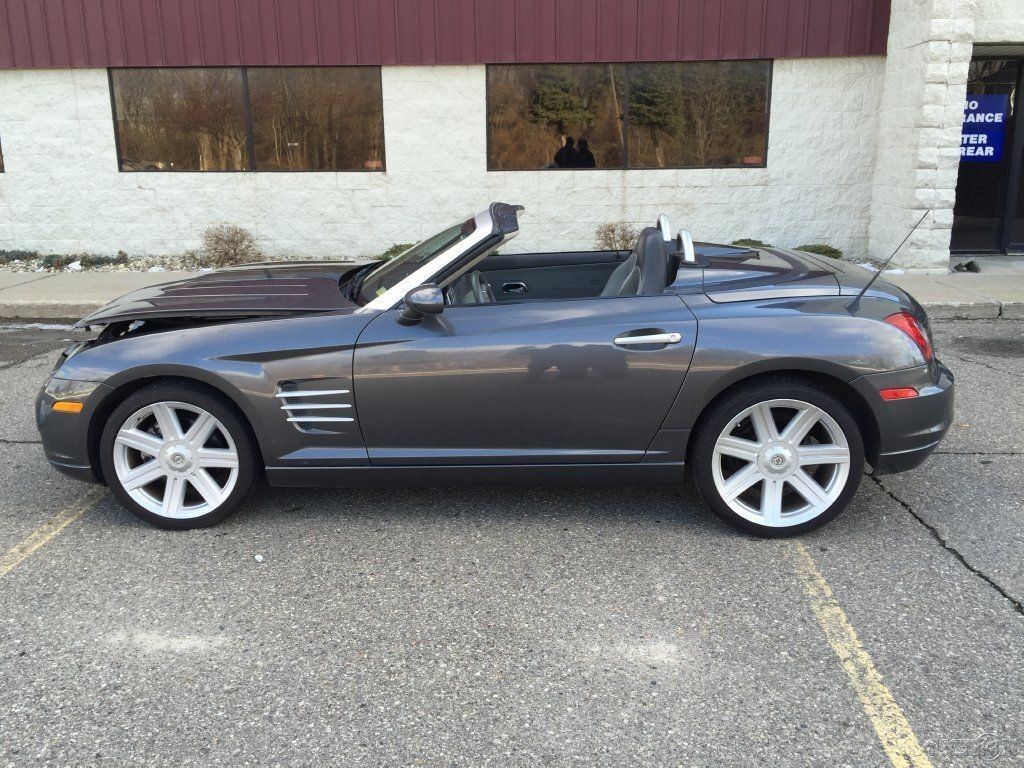 2005 Chrysler Crossfire Limited Wrecked