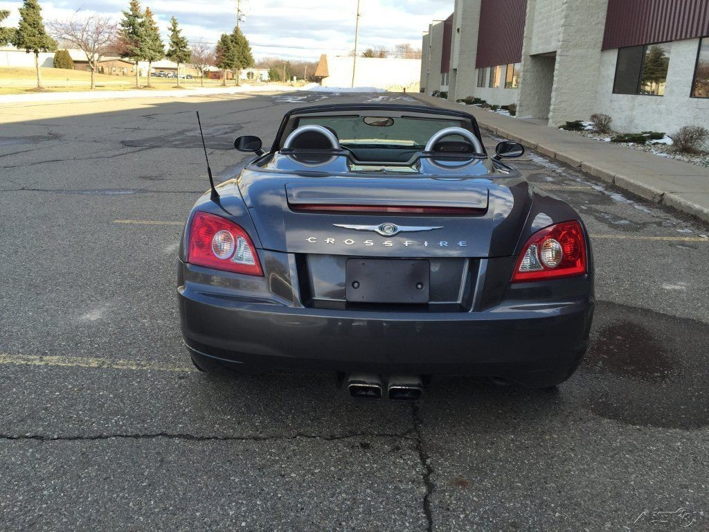 2005 Chrysler Crossfire Limited Wrecked For Sale