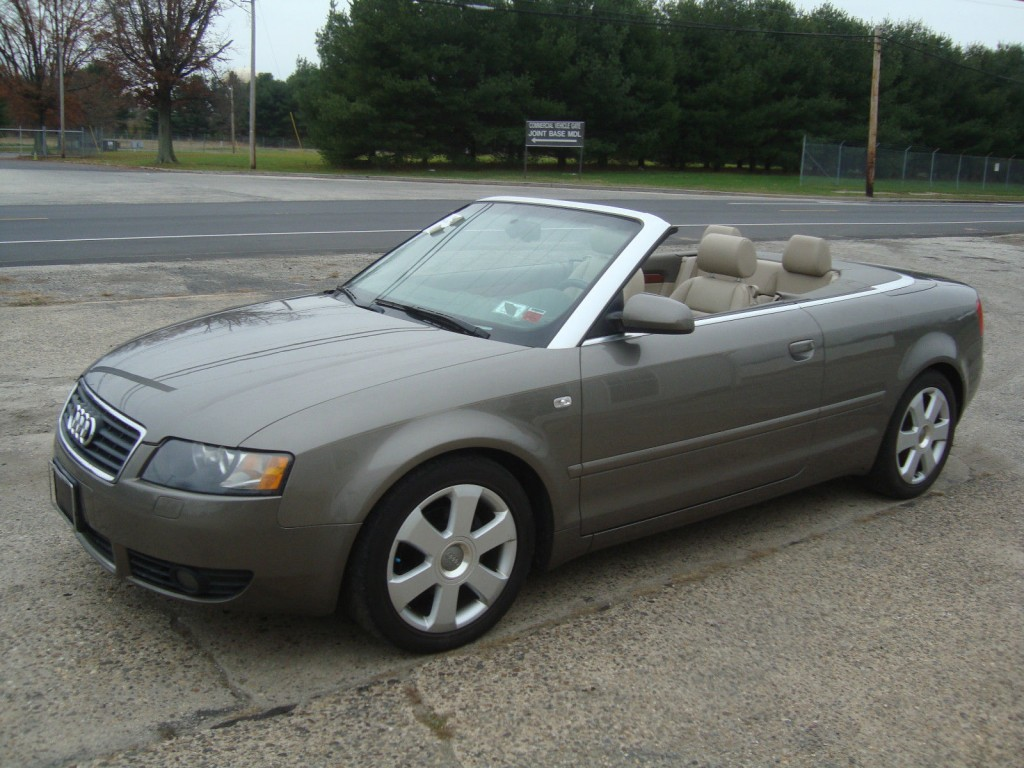2006 audi a4 1 8 turbo convertible salvage for sale for Audi a4 1 8 t motor for sale