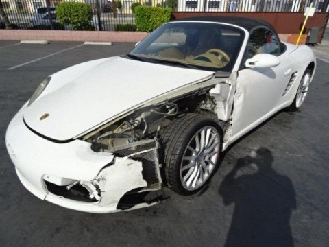 2006 Porsche Boxster Salvage Wrecked for sale