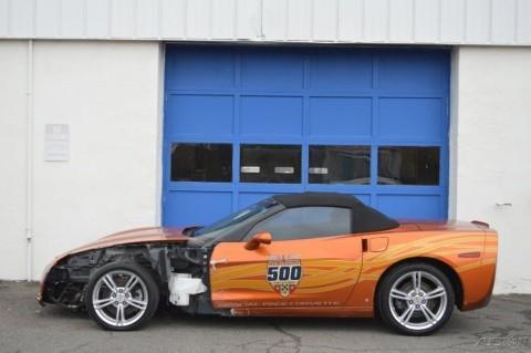 2007 Chevrolet Corvette Indy Pace Car Edition Convertible Salvage for sale