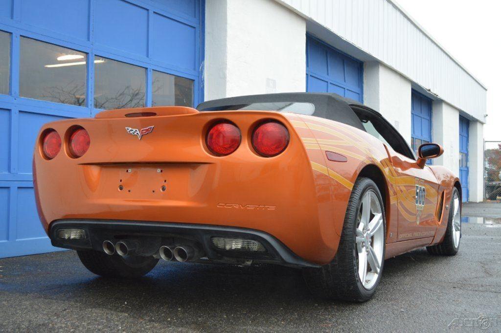 2007 chevrolet corvette indy pace car edition convertible salvage for sale. Black Bedroom Furniture Sets. Home Design Ideas
