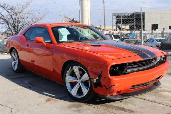 2018 Dodge Challenger >> 2008 Dodge Challenger SRT8 Wrecked Repairable for sale