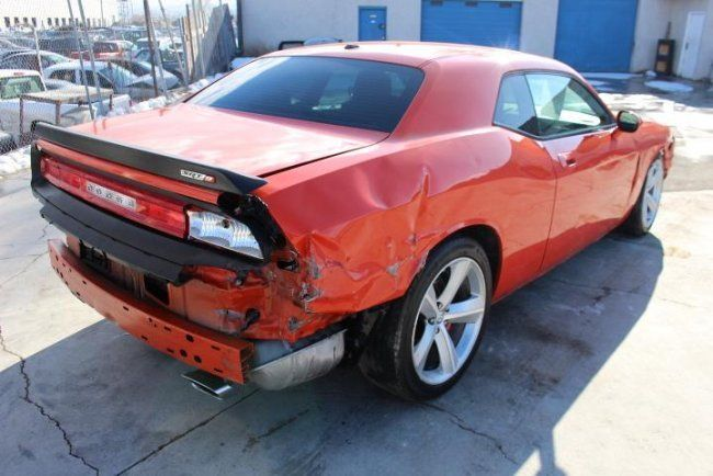 2008 Dodge Challenger Srt8 Wrecked Repairable For Sale