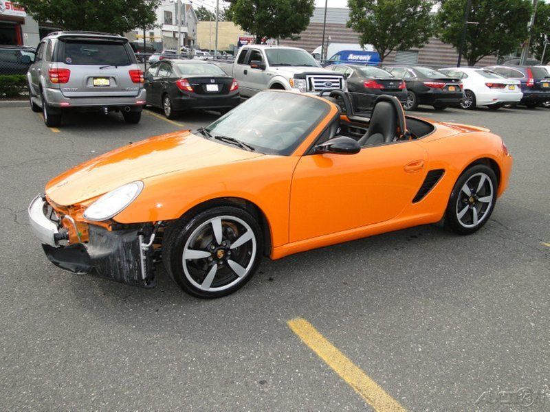 2008 Porsche Boxster Limited Edition Wrecked For Sale