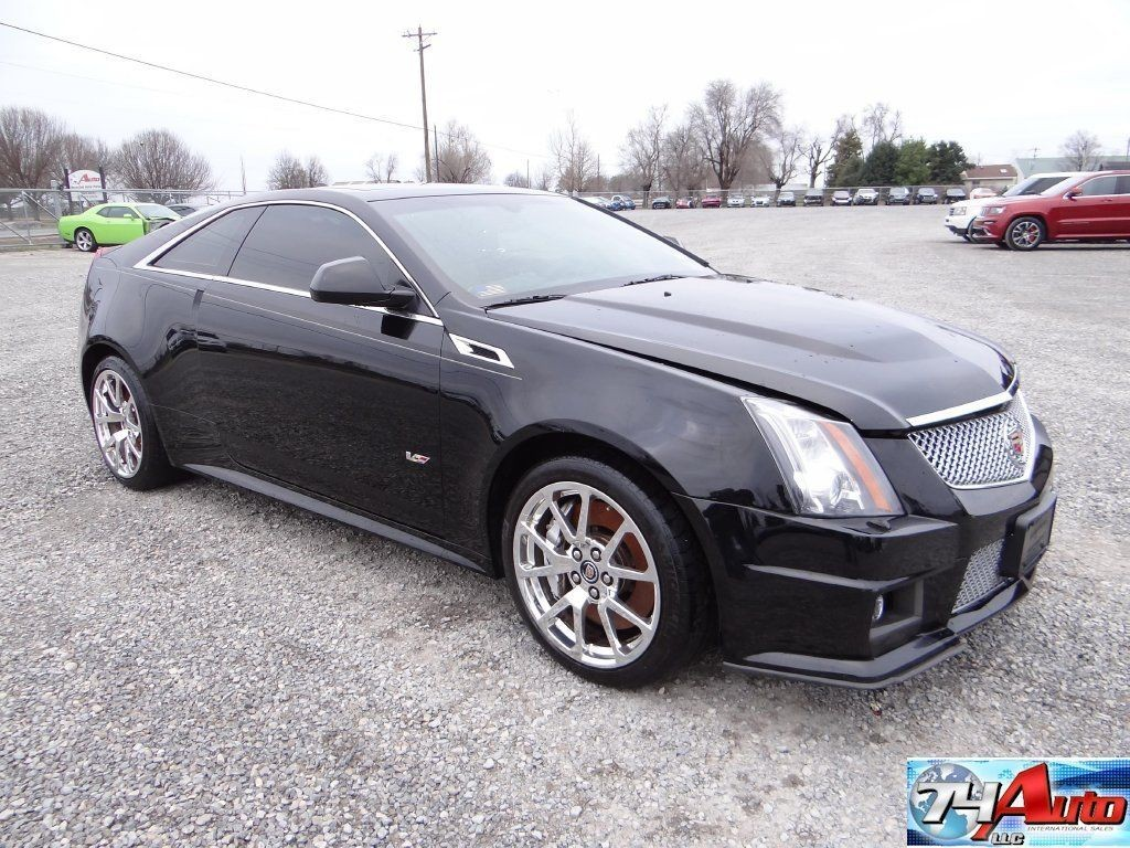 Cadillac Cts Coupe For Sale >> 2012 Cadillac CTS V Supercharged Repairable for sale