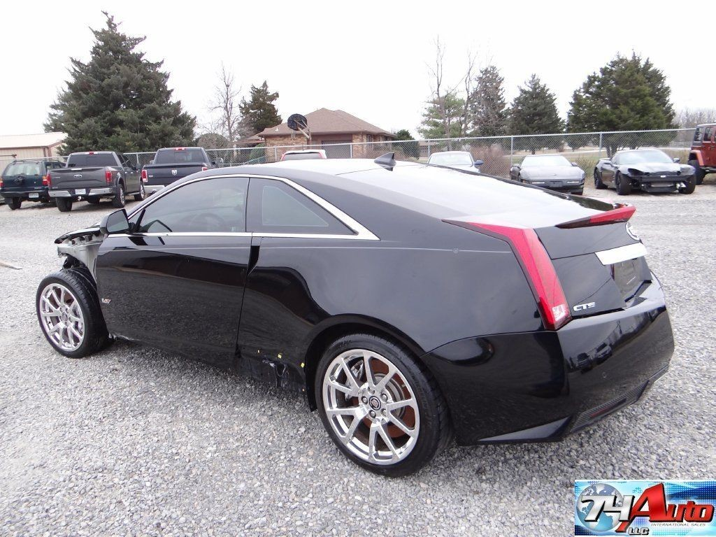 2012 Cadillac CTS V Supercharged Repairable For Sale