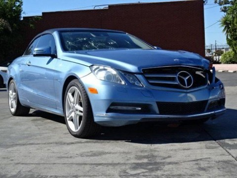 2012 Mercedes Benz E350 Cabriolet Damaged Repairable for sale