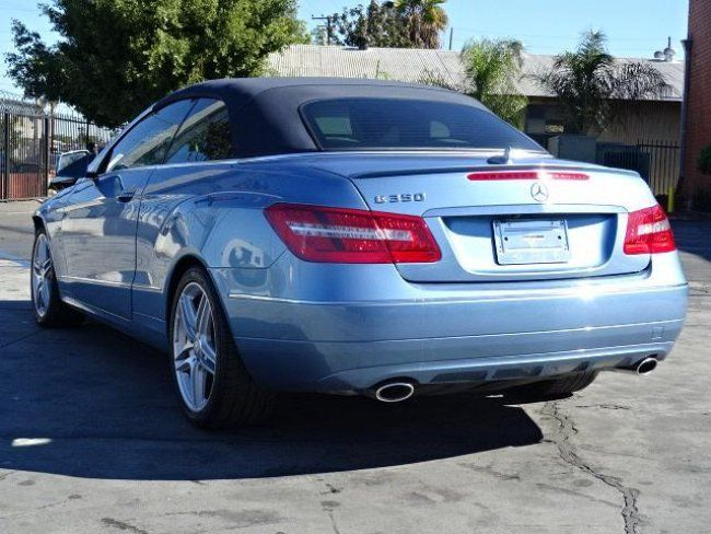 2012 Mercedes Benz E350 Cabriolet Damaged Repairable