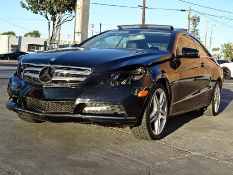2012 Mercedes Benz E350 Sedan Damaged for sale