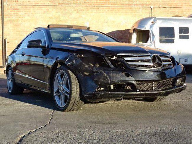 2012 Mercedes Benz E350 Sedan Damaged