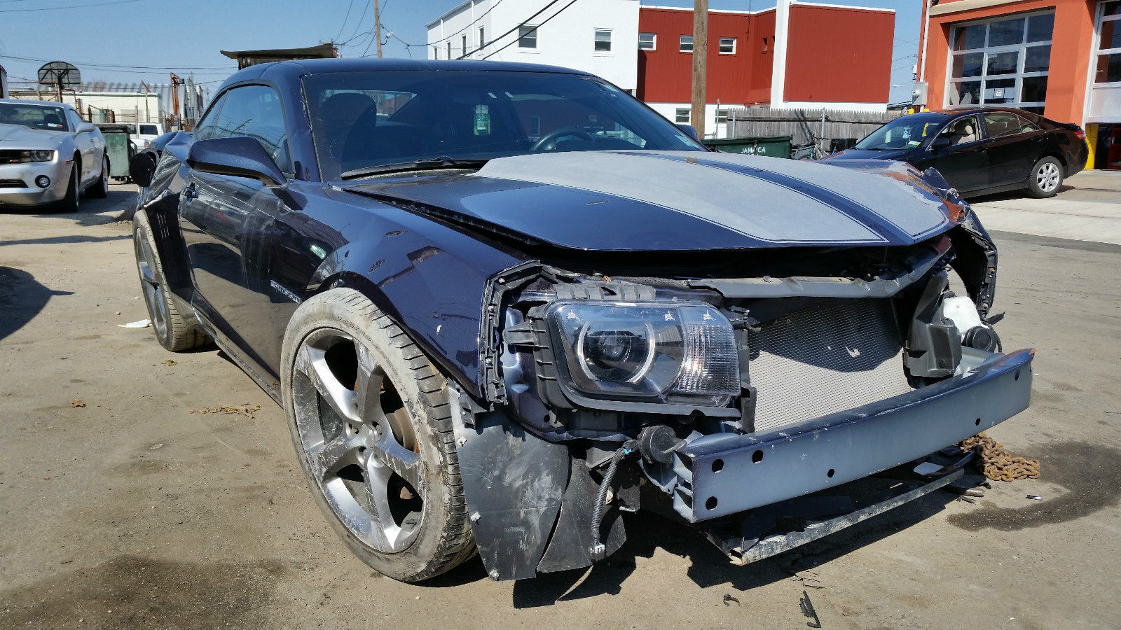 2013 Chevrolet Camaro RS Coupe 3.6L Salvage Wrecked for sale