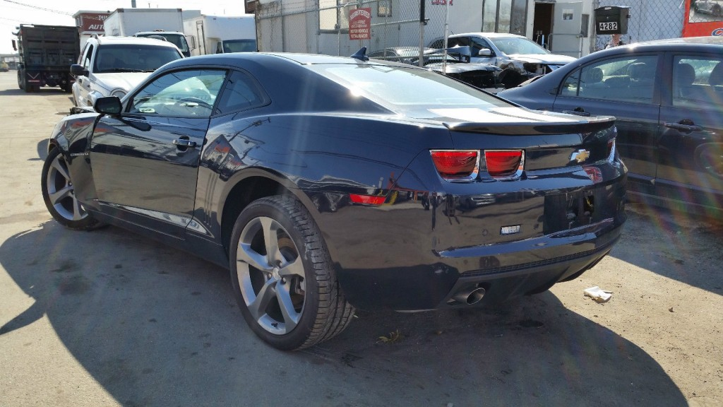 2013 chevrolet camaro rs coupe 3 6l salvage wrecked for sale. Black Bedroom Furniture Sets. Home Design Ideas