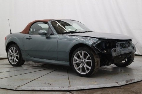 2013 Mazda MX 5 Miata Grand Touring 6SPD Wrecked for sale