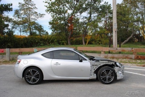 2013 Scion FR-S Wrecked Rebuildable for sale