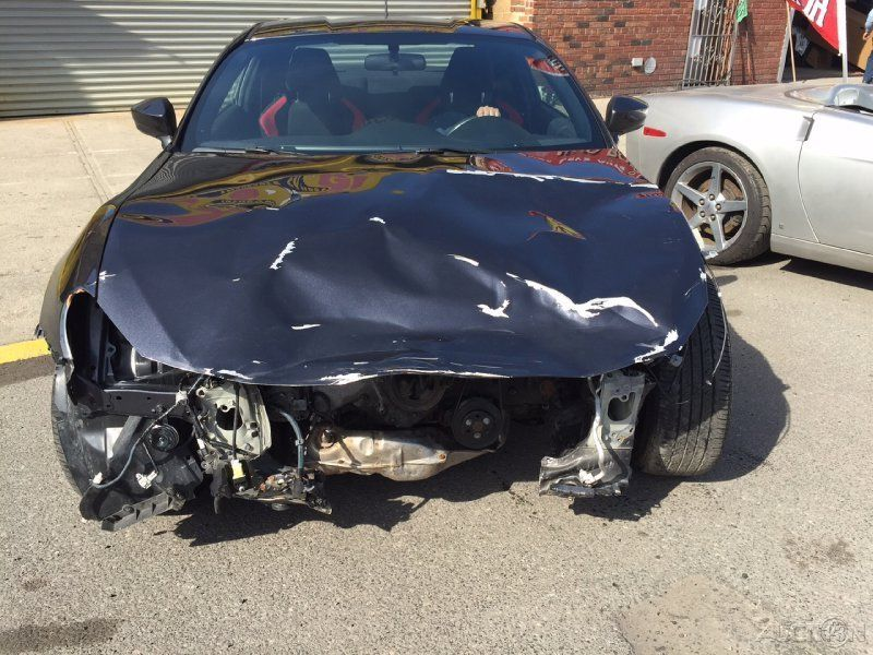 2013 Scion FR-S wrecked