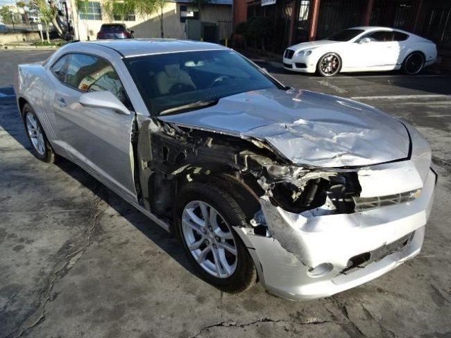 2014 Chevrolet Camaro 1LT Salvage Wrecked