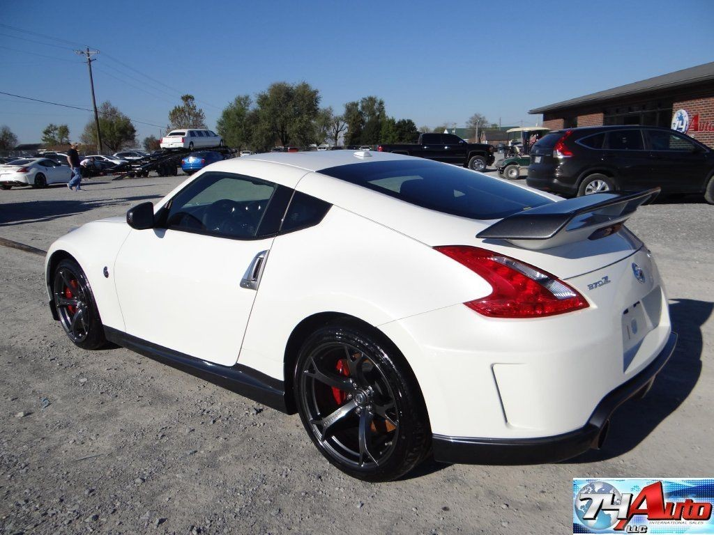 2014 nissan 370z nismo repairable for sale. Black Bedroom Furniture Sets. Home Design Ideas