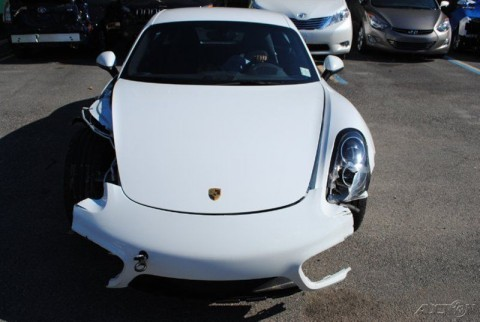 2014 Porsche Cayman S Wrecked for sale