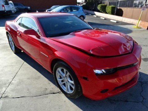 2015 Chevrolet Camaro 2LS Coupe Wrecked Repairable for sale