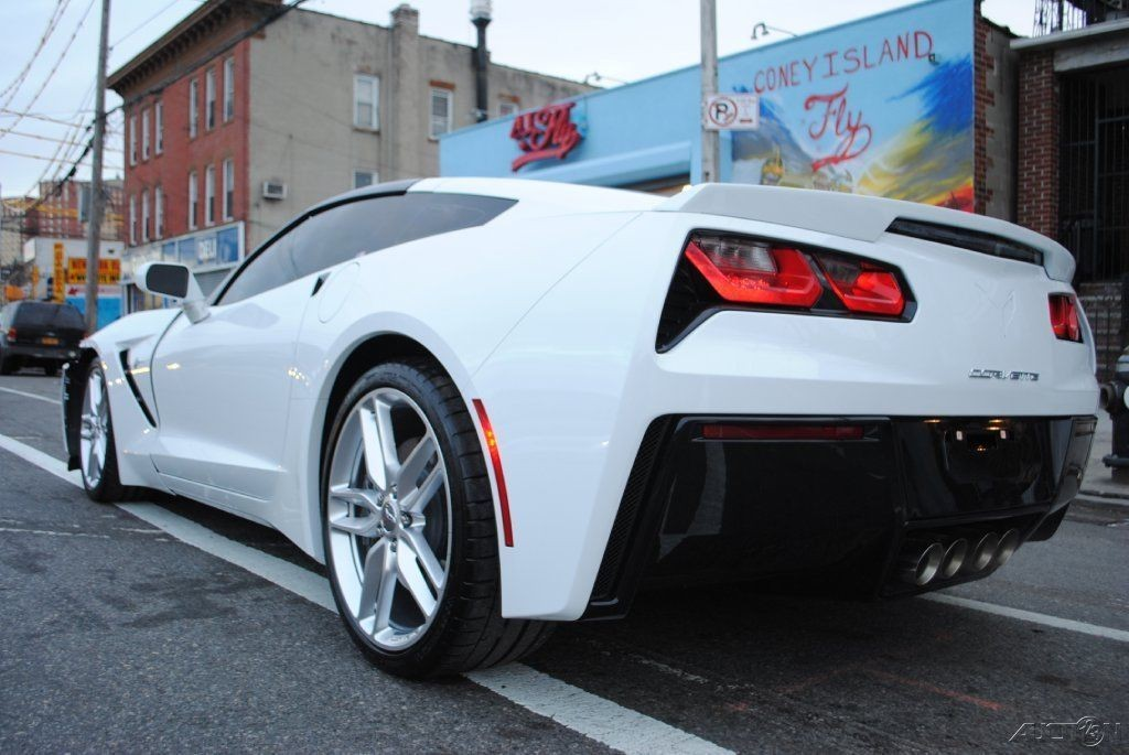 Wrecked Cars For Sale >> 2015 Chevrolet Corvette Stingray C7 White Wrecked for sale