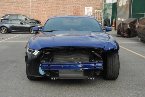 2012 Mustang V6 For Sale >> 2015 Ford Mustang Ecoboost Turbo Salvage Wrecked for sale