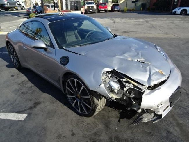 2015 Porsche 911 Carrera 4S Salvage Repairable