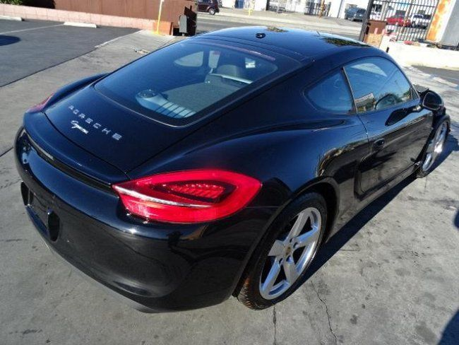 2015 porsche cayman coupe salvage wrecked repairable for sale. Black Bedroom Furniture Sets. Home Design Ideas