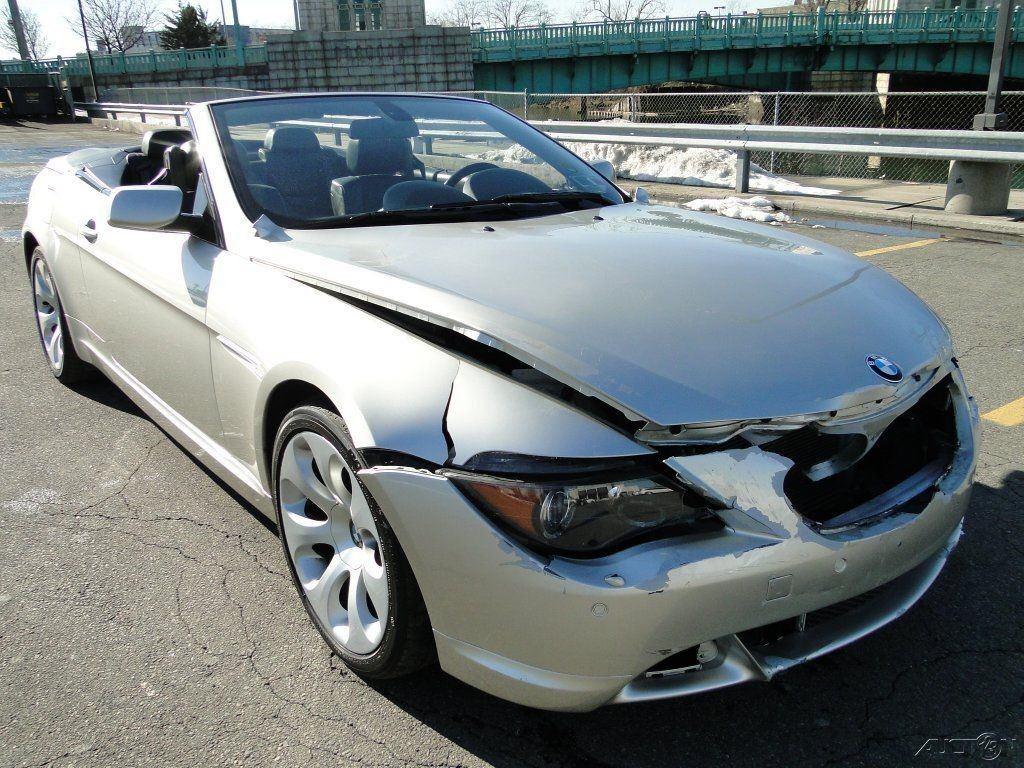 BMW Ci L V Convertible Repairable Rebuild For Sale - 2005 bmw 645ci convertible price