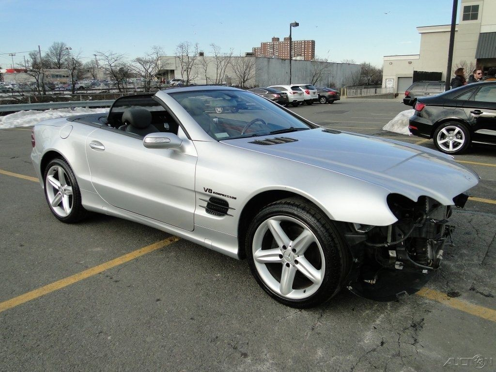 2006 mercedes benz sl500 convertible wrecked for sale for Salvage mercedes benz for sale ebay