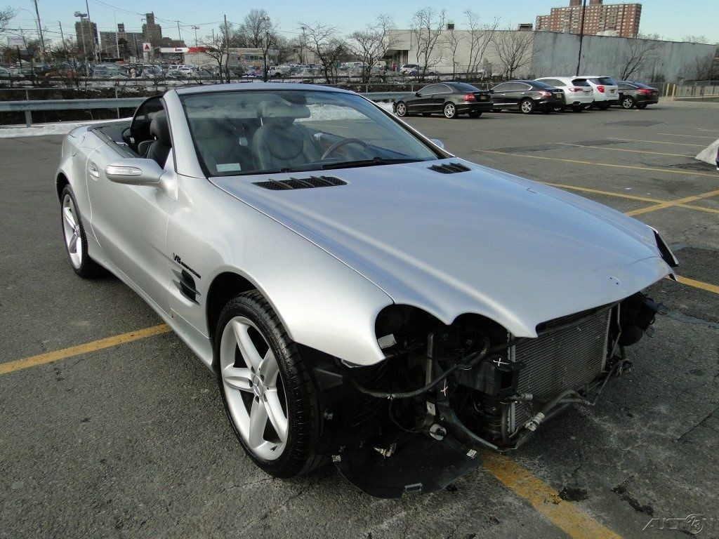2006 mercedes benz sl500 convertible wrecked for sale for Salvage mercedes benz