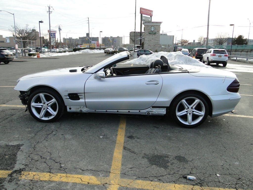 2006 Mercedes Benz Sl500 Convertible Wrecked For Sale