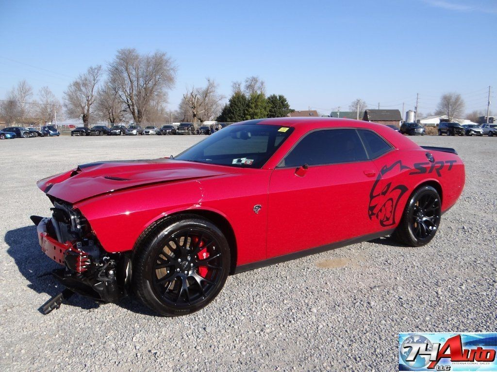 2015 Dodge Challenger Srt Hellcat Repairable Wrecked Sport