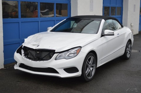 2015 Mercedes Benz E400 Cabriolet Rebuildable for sale