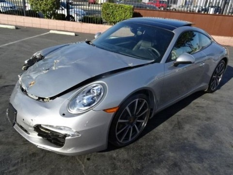 2015 Porsche 911 Carrera S Salvage Repairable for sale