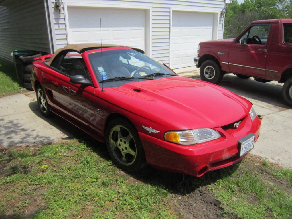1994 Ford Mustang Cobra Convertible Indy Pace Car for ...