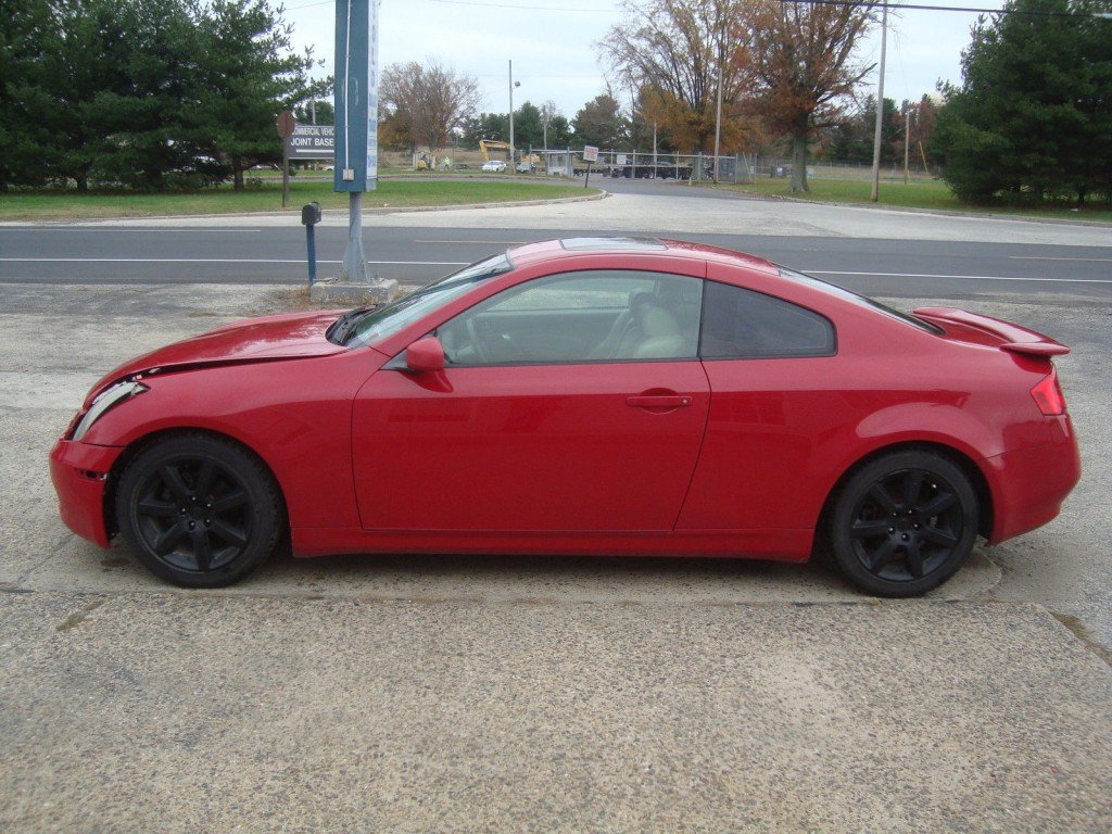 2004 Infiniti G35 Coupe Salvage Rebuildable For Sale