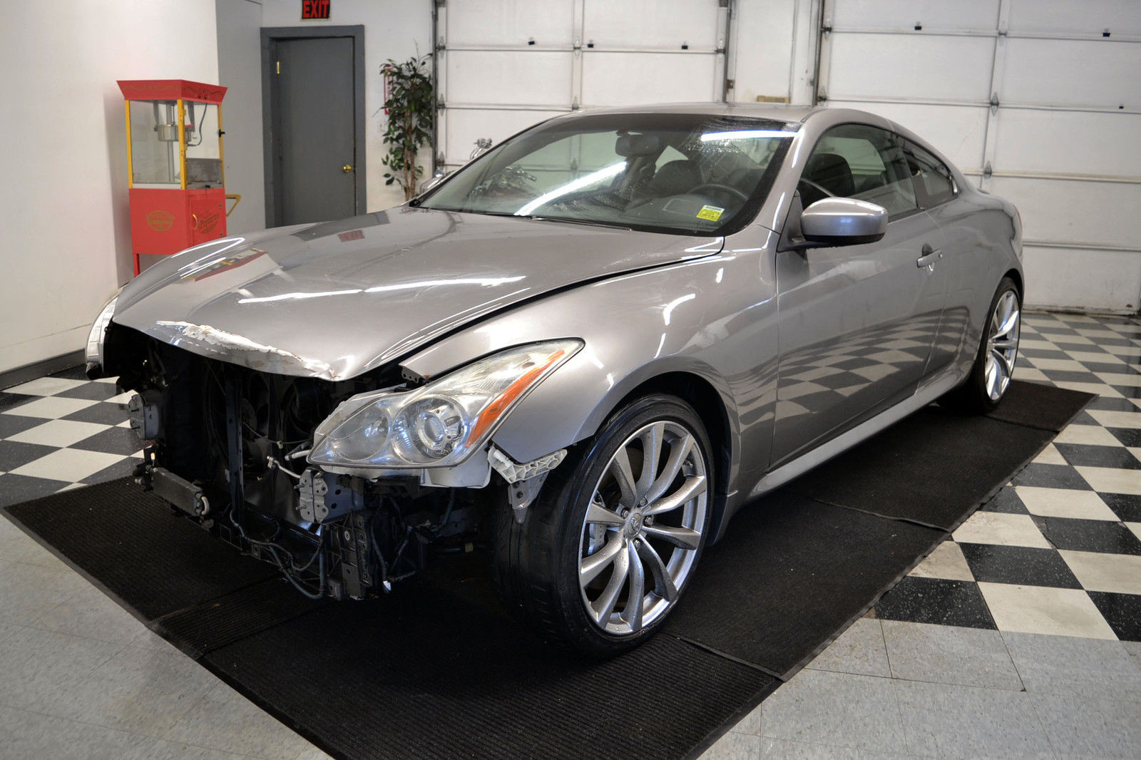 2008 infiniti g37 s coupe damaged wrecked for sale - Infiniti g37 red interior for sale ...