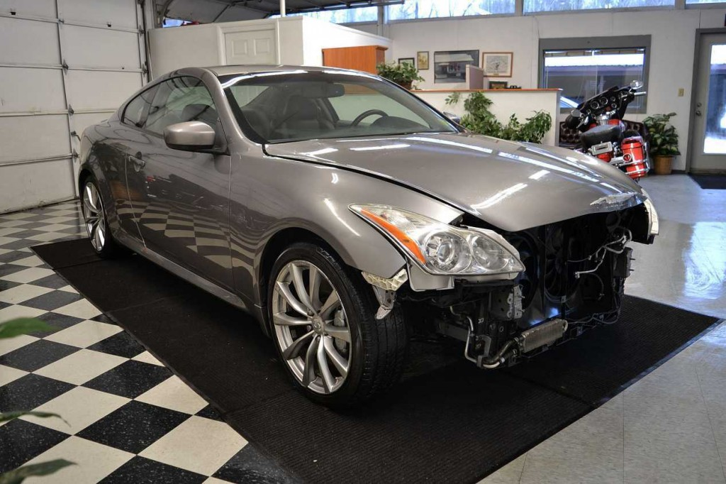 2008 infiniti g37 s coupe damaged wrecked for sale. Black Bedroom Furniture Sets. Home Design Ideas