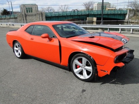 2008 dodge challenger srt8 wrecked repairable for sale. Black Bedroom Furniture Sets. Home Design Ideas
