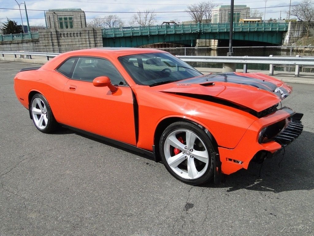 Dodge Charger Sxt Rallye >> 2009 Dodge Challenger SRT8 Repairable Rebuilder for sale