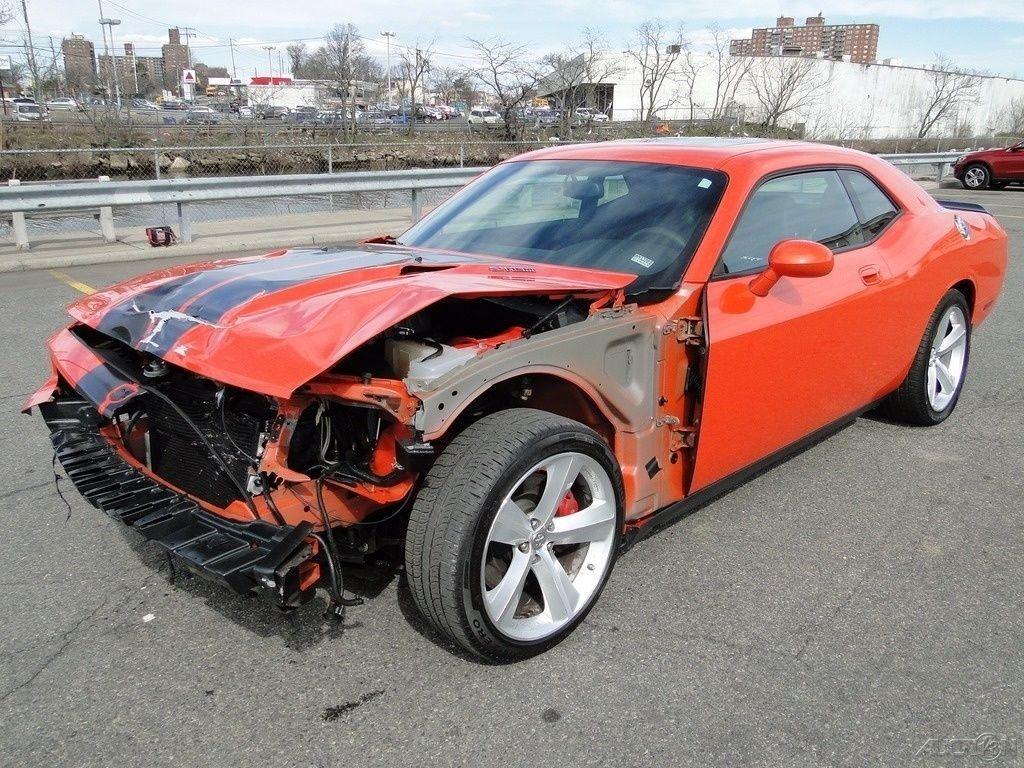 Dodge Viper For Sale >> 2009 Dodge Challenger SRT8 Repairable Rebuilder for sale