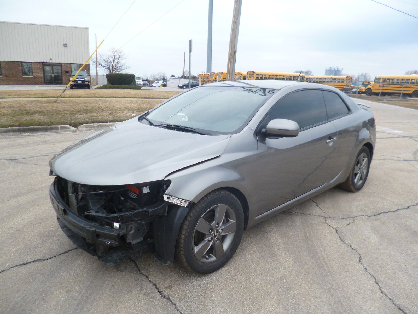 2013 Kia Optima For Sale >> 2012 Kia Forte Koup EX coupe Rebuildable Damaged Salvage for sale