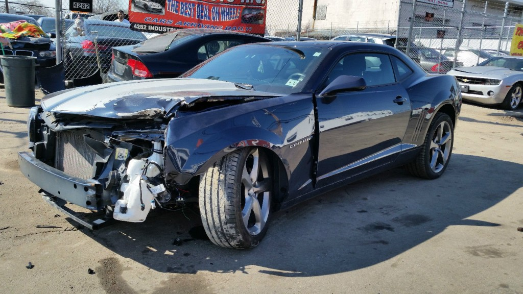2013 chevrolet camaro rs coupe 3 6l salvage repair for sale. Black Bedroom Furniture Sets. Home Design Ideas