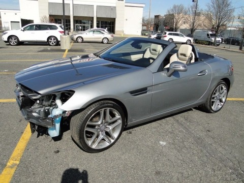 2013 Mercedes Benz SLK250 Convertible Repairable Rebuilder for sale