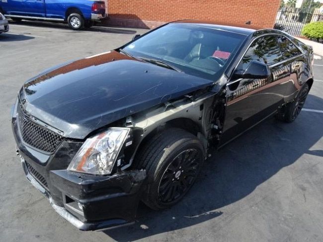 2014 Cadillac CTS Coupe Salvage Wrecked Repairable for sale