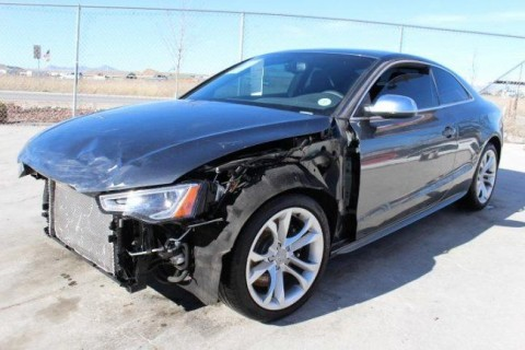 2015 Audi S5 Premium Plus Coupe Quattro 7A Salvage Wrecked for sale